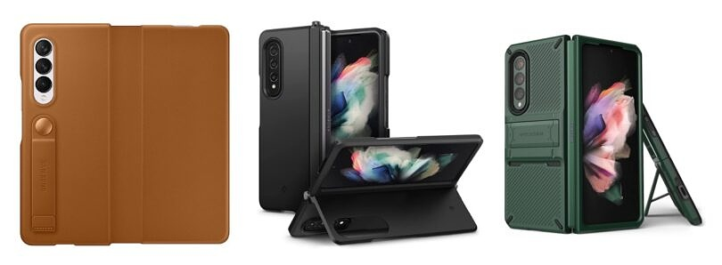 These are the Best Kickstand Cases for the Samsung Galaxy Z Fold 3: Spigen, VRS, and more!
