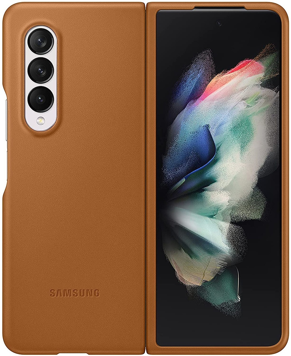 Samsung Galaxy Z Fold 3 Leather Protective Cover