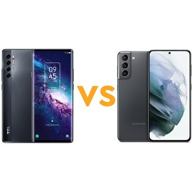 TCL 20 Pro 5G vs Samsung Galaxy S21 5G: Which phone should you buy?