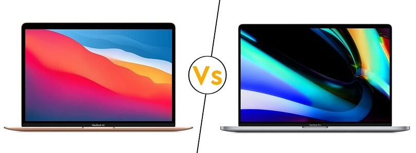 What's the difference between the MacBook Pro and MacBook Air?