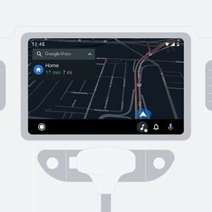 Waze for Android Auto with dark mode