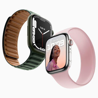 The Apple Watch Series 7 is already listed on Amazon