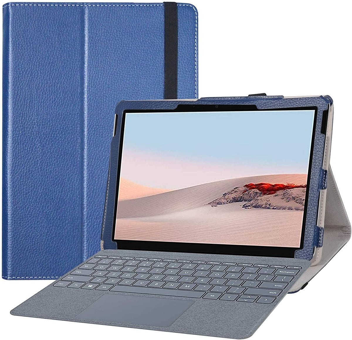 Bige PU Leather 2-Folding Stand Cover