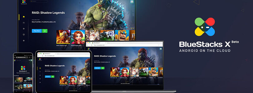 BlueStacks X is the first streaming service for mobile games