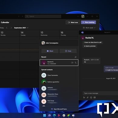 Windows 11 deep dive: Chat with Microsoft Teams
