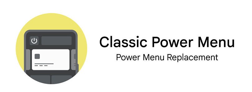 This app brings back the more useful power menu from Android 11 on Android 12 devices