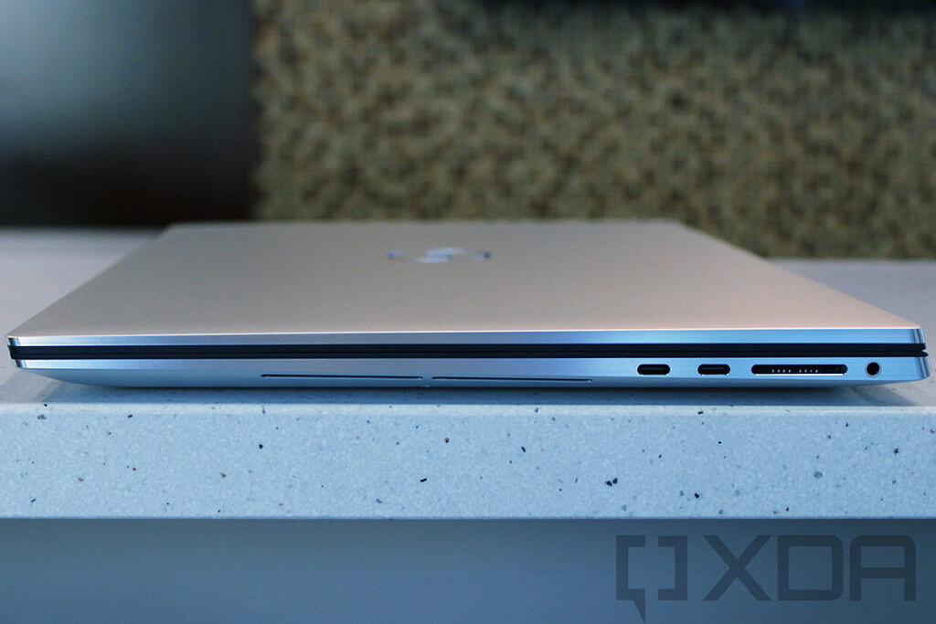 Side view of Dell XPS 17