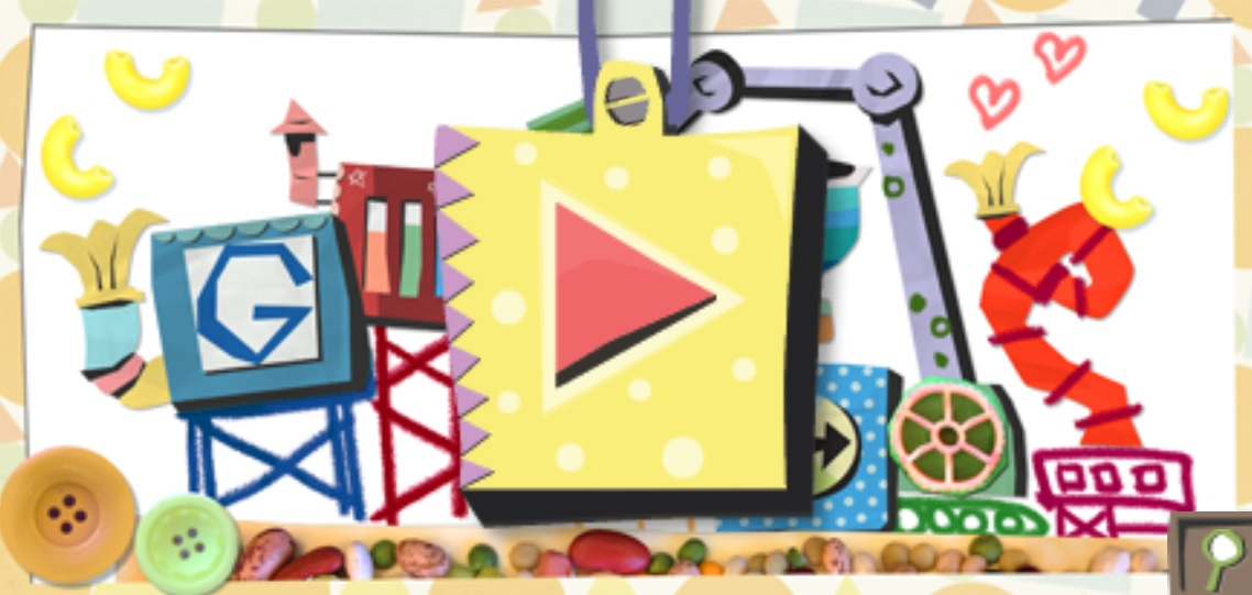 google doodle mother's day card