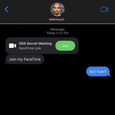 XDA Basics: How to share a FaceTime call with an Android or Windows user