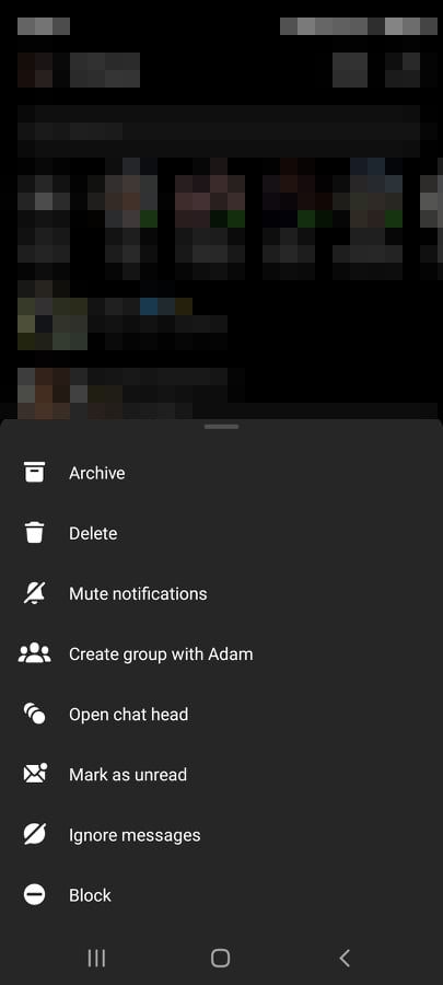 Facebook Messenger Bubbles removed in place of chat heads