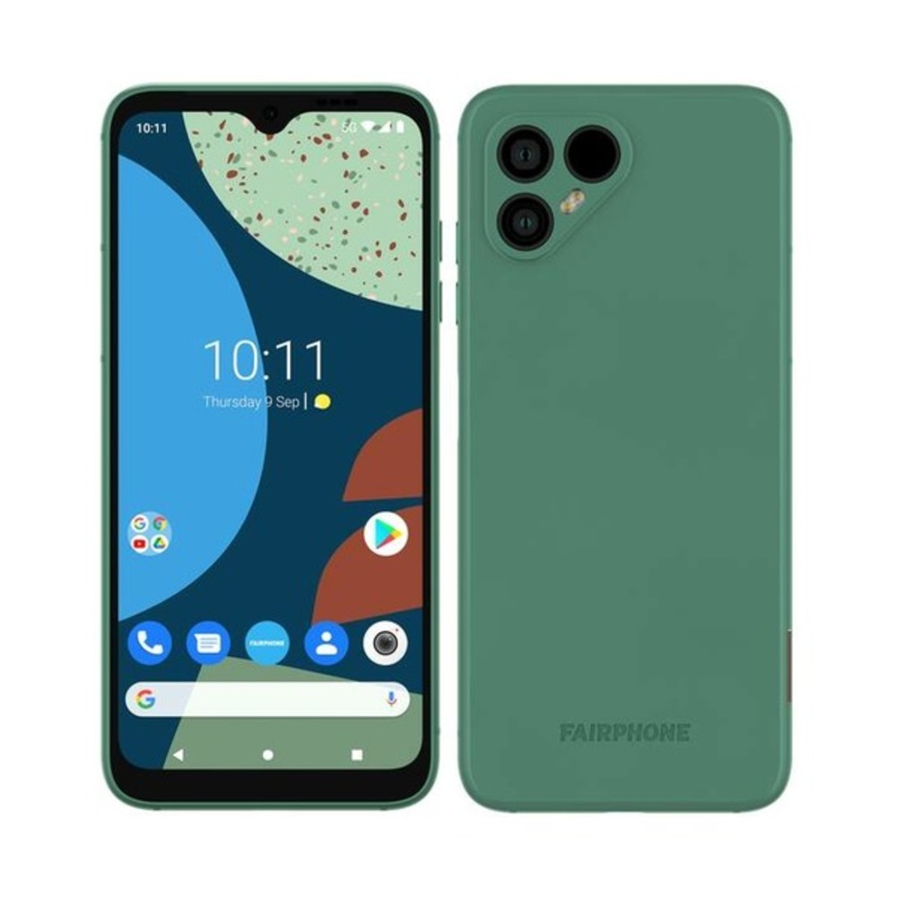 Fairphone 4 5G in green color