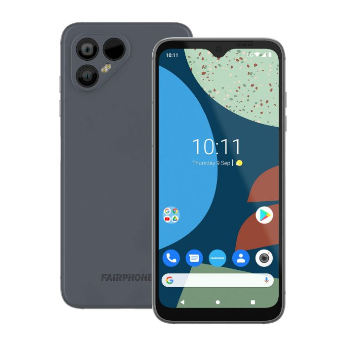 Fairphone 4 front and back