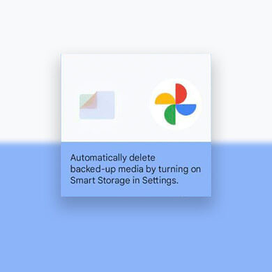 """Files by Google app adds """"Smart Storage"""" to automatically delete backed-up photos and videos"""
