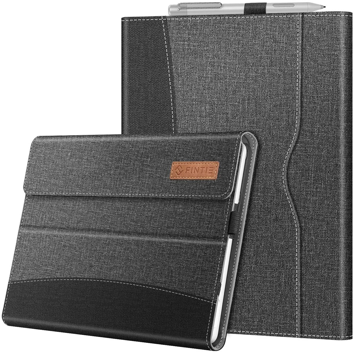 Fintie Protective Multi-Angle Portfolio Business Cover with Pocket