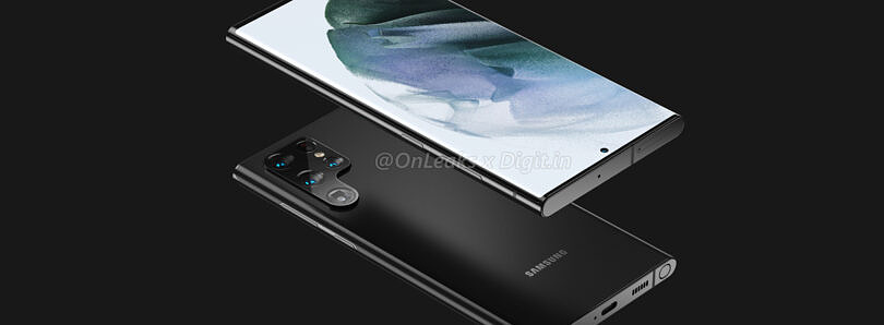 Leaked Galaxy S22 Ultra renders show why Samsung is likely killing the Galaxy Note