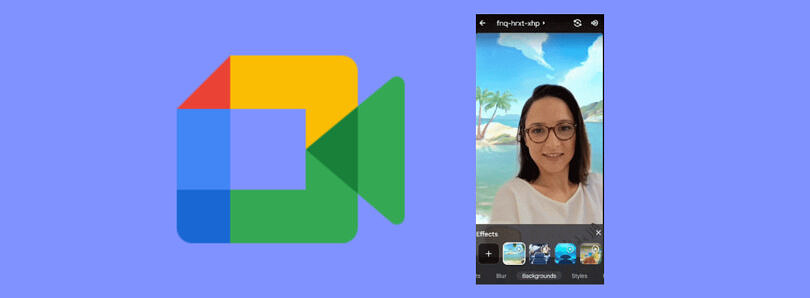 You can now use animated backgrounds on Google Meet for Android