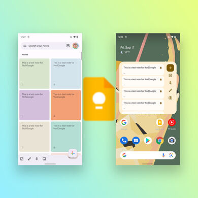 Google's Material You rollout continues with an update to Google Keep