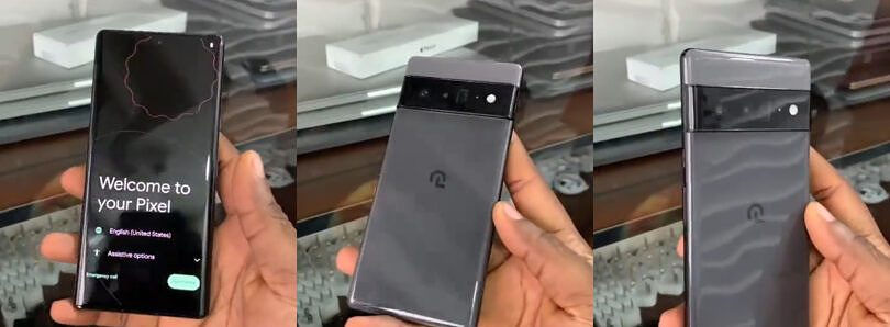 Leaked hands-on video of the Pixel 6 Pro confirms glossy back, Google Tensor specs