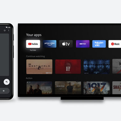 Google TV app adds a remote control for your Android TV
