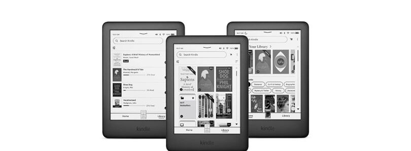 Kindle update revamps the home screen and navigation experience