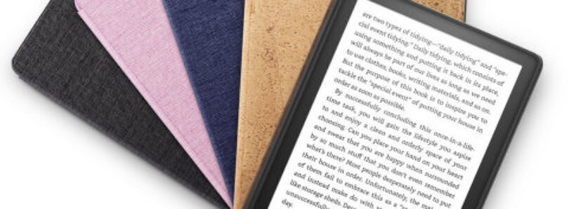 Amazon's new Kindle Paperwhite has a bigger screen, better battery life, and USB-C charging
