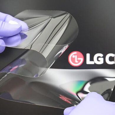 LG says its foldable display cover is thinner and less noticeable than competitors
