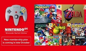 Nintendo is launching a new tier of Switch Online with N64 and Sega Genesis games