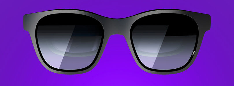 The Nreal Air are a pair of lightweight AR smart glasses that expand your phone's viewing area