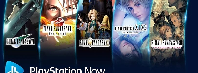 PlayStation Now is adding a new Final Fantasy game every month through January