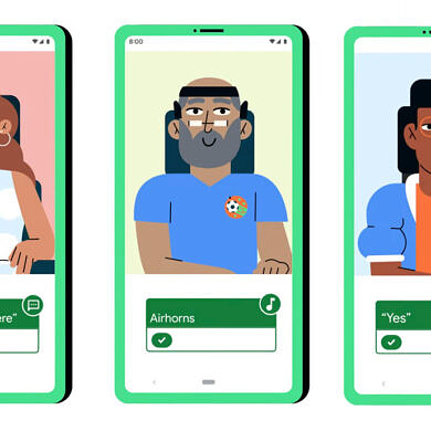 Android's latest accessibility features let you control your phone and chat with facial gestures