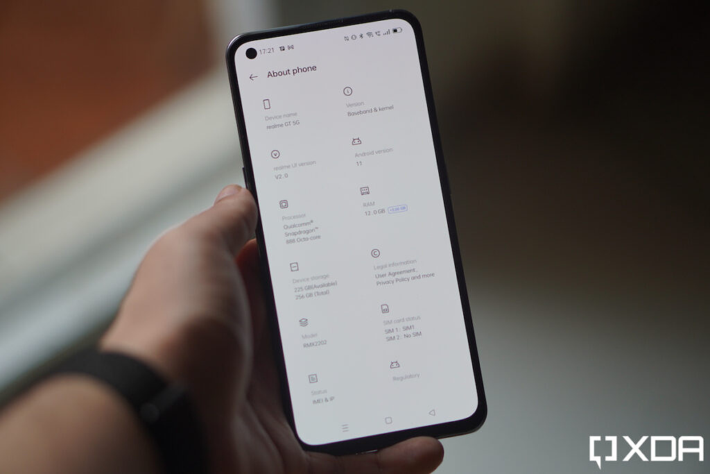 About phone screen