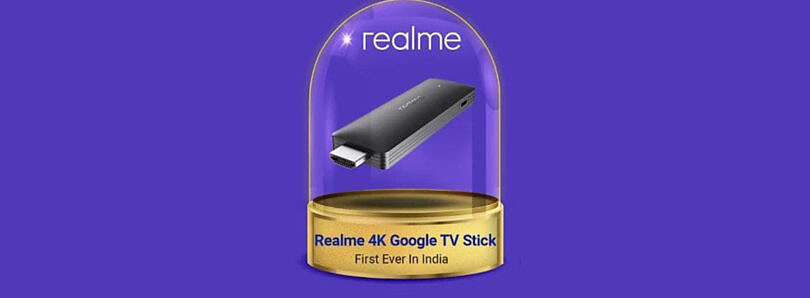 Realme teases a TV stick with Google TV built-in