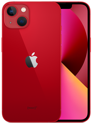 Red iPhone 13