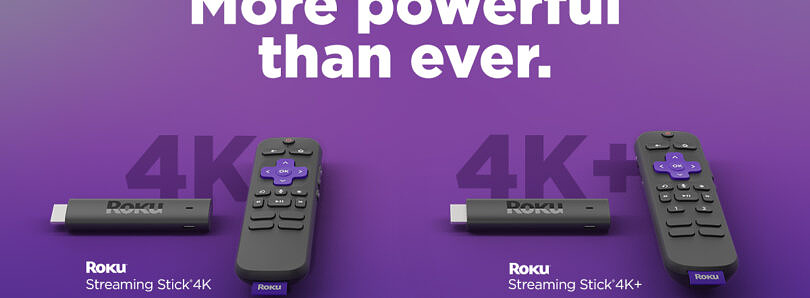 Roku unveils two new 4K streaming sticks and rolls out Roku OS 10.5