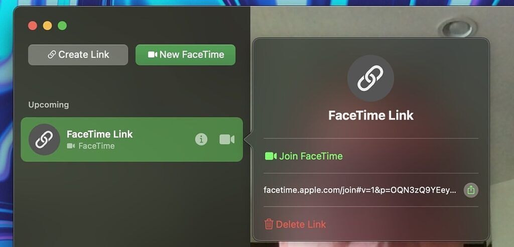 FaceTime with non-Apple users on Monterey