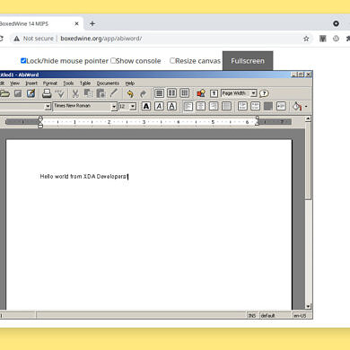 Boxedwine can emulate Windows applications in web browsers