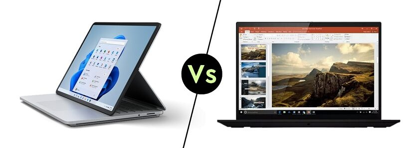 Surface Laptop Studio vs Lenovo ThinkPad X1 Extreme: Which is better?