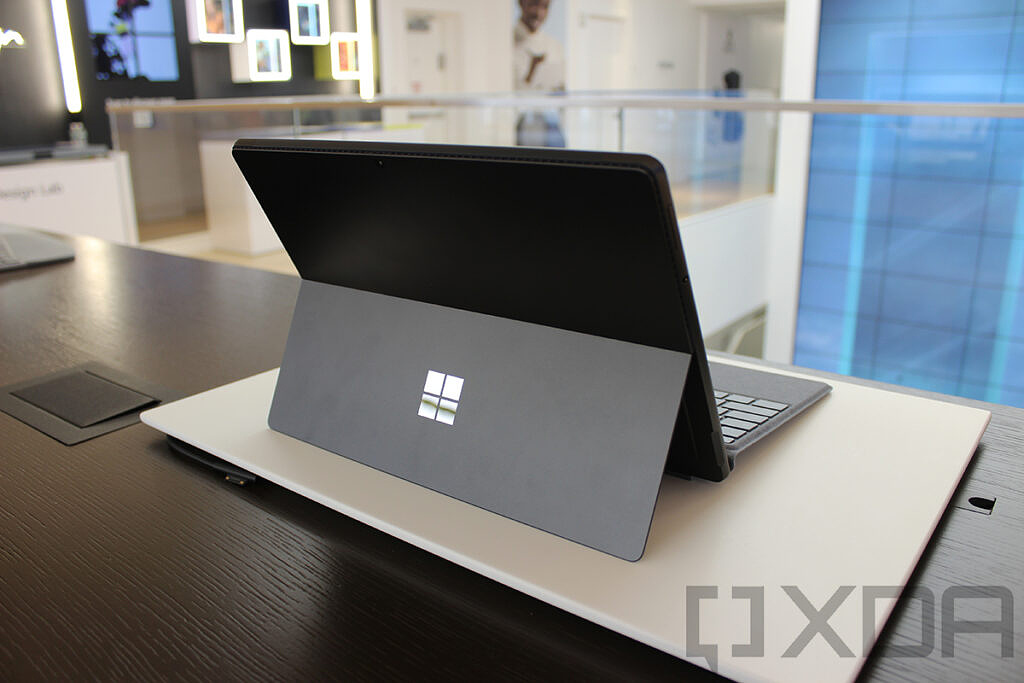 Surface Pro 8 rear view