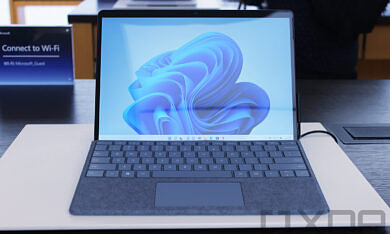Hands on: The Surface Pro 8 is the first major redesign of a Surface Pro since 2014