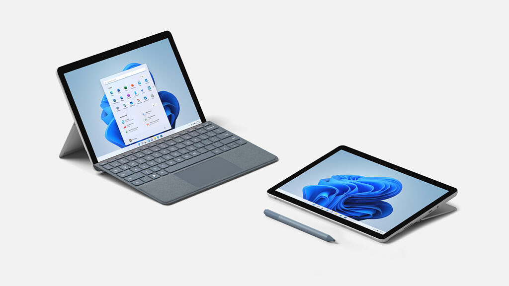 Surface Pro 8 left angle view