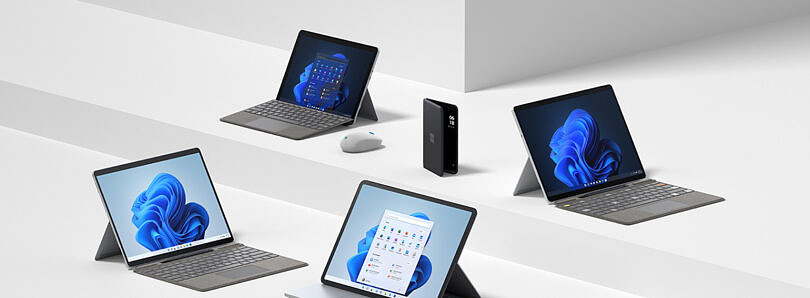 Microsoft's new Surface devices are available today with Windows 11