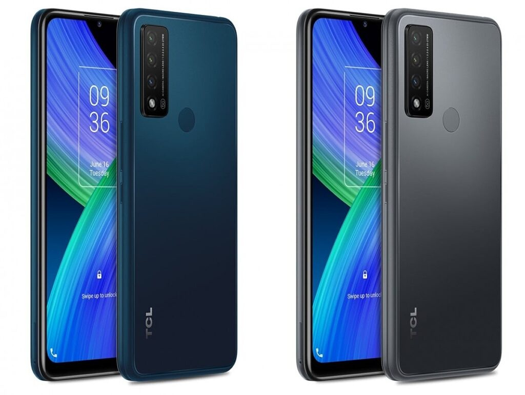 TCL 20 R 5G in two colors