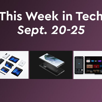 This Week in Tech: New Surface products, Galaxy S22 & Pixel 6 Pro leaks, Google app updates, and more
