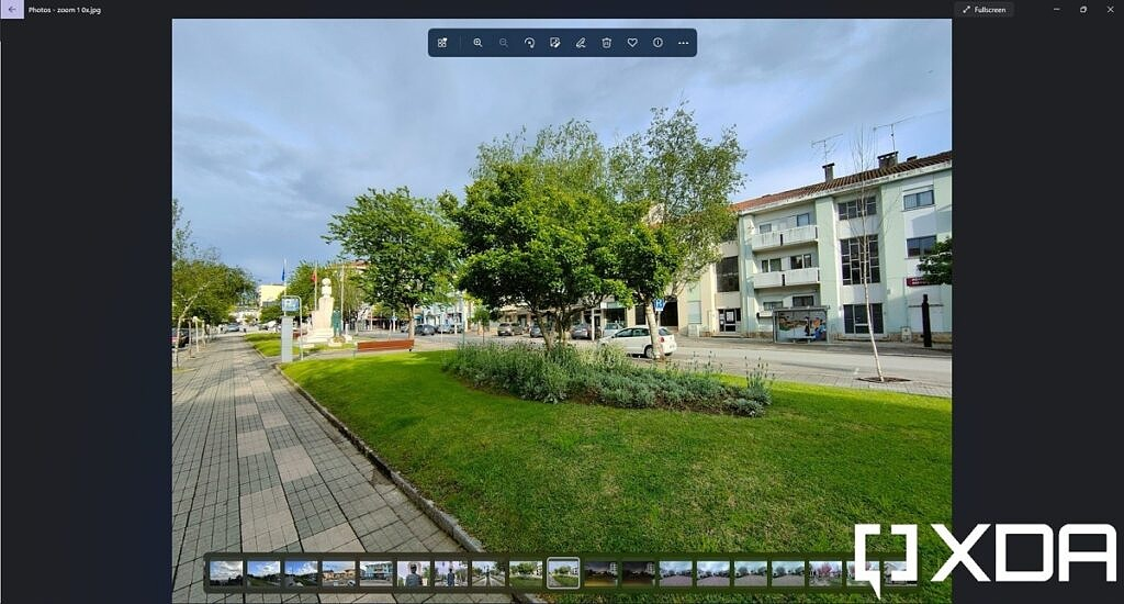 Viewing an image in the Windows 11 Photos app