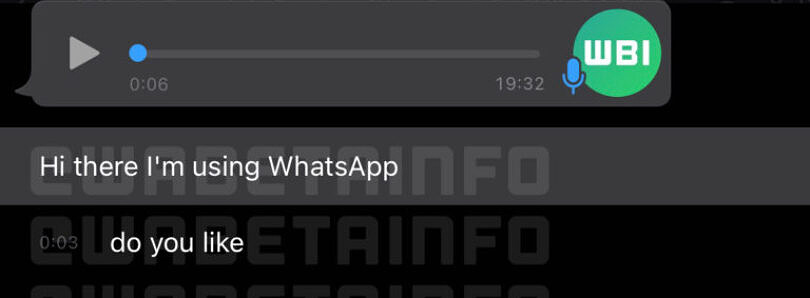 WhatsApp may soon be able to transcribe voice messages
