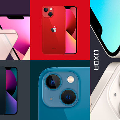 What Colors does the iPhone 13 series come in?