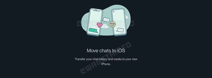WhatsApp may soon let you transfer chats from Android to iOS
