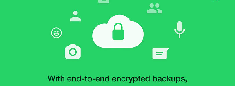 Facebook explains how WhatsApp's end-to-end encrypted backups work