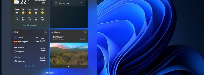 Windows 11 deep dive: Checking out the Widgets pane
