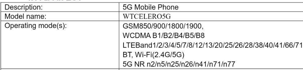 boost mobile celero 5g band support